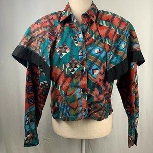 Vintage Mine and Bills Outfitters Western Shirt L